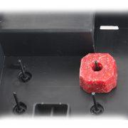Egér élvebefogó XL, fekete (rovarnyílással)